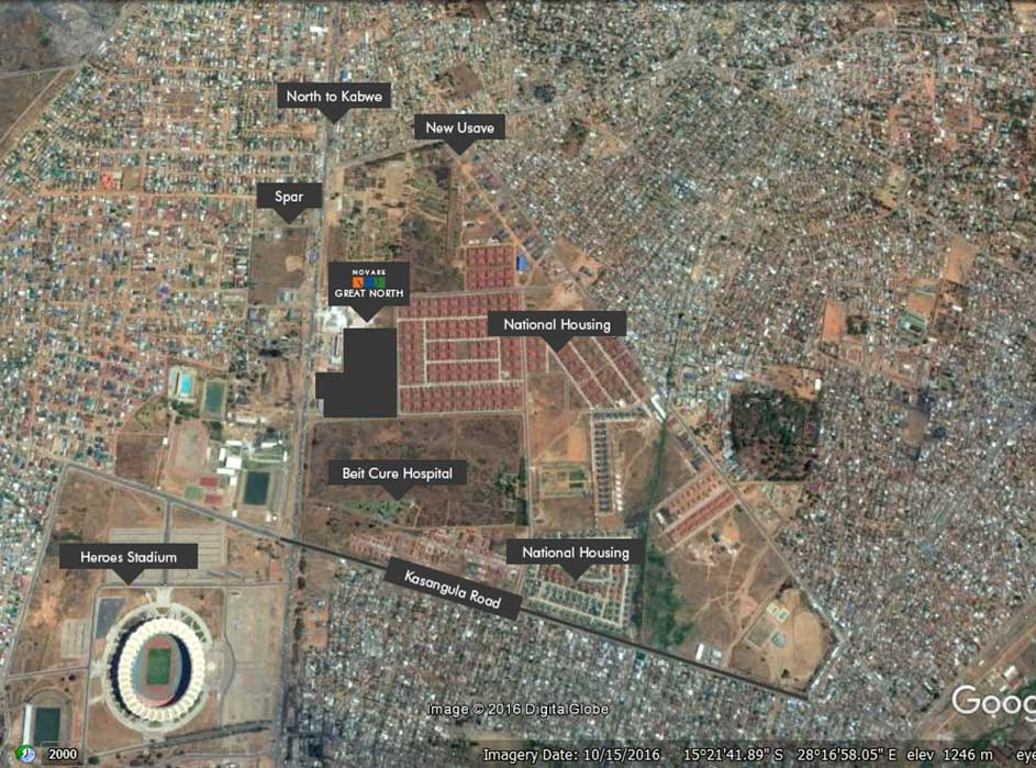 Great North Mall, Zambia. Novare
