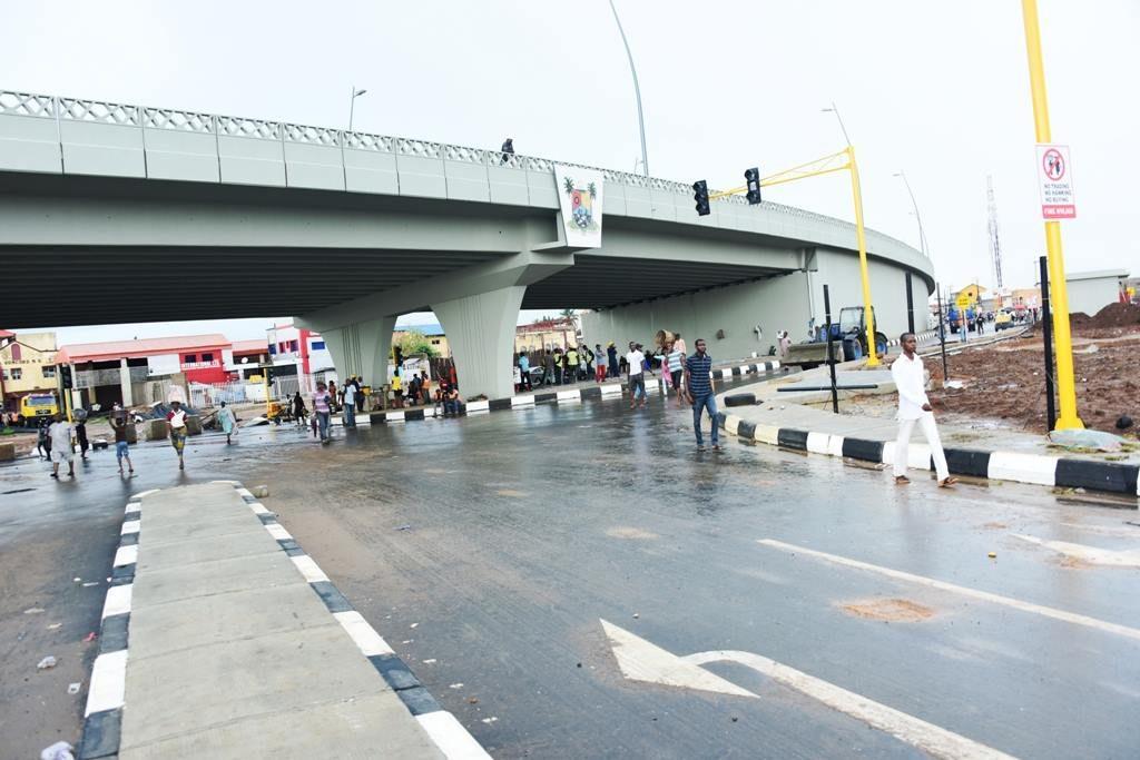 Abule-Egba Flyover Bridge. Image Source: Lagos State