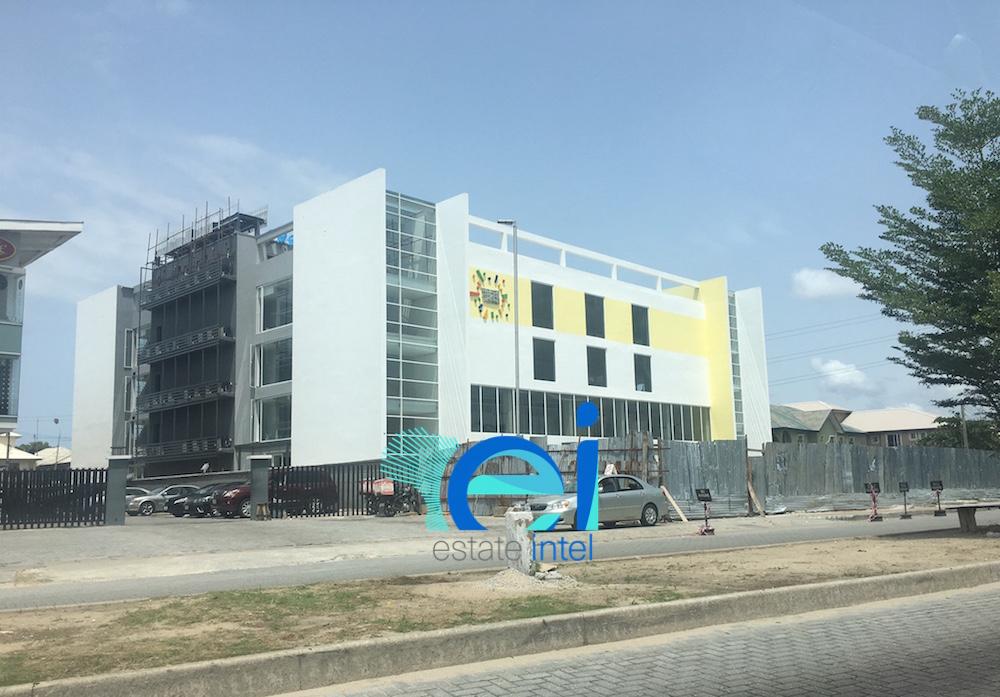 April 2017. Development: Lennox Mall, Admiralty Way/Layi Yusuf Crescent, Lekki Phase 1 - Lagos