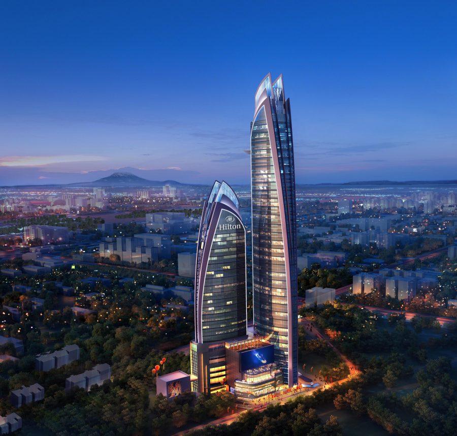 Construction Starts at 45 Floor Hilton in Upper Hill Nairobi. Image Source: Hilton