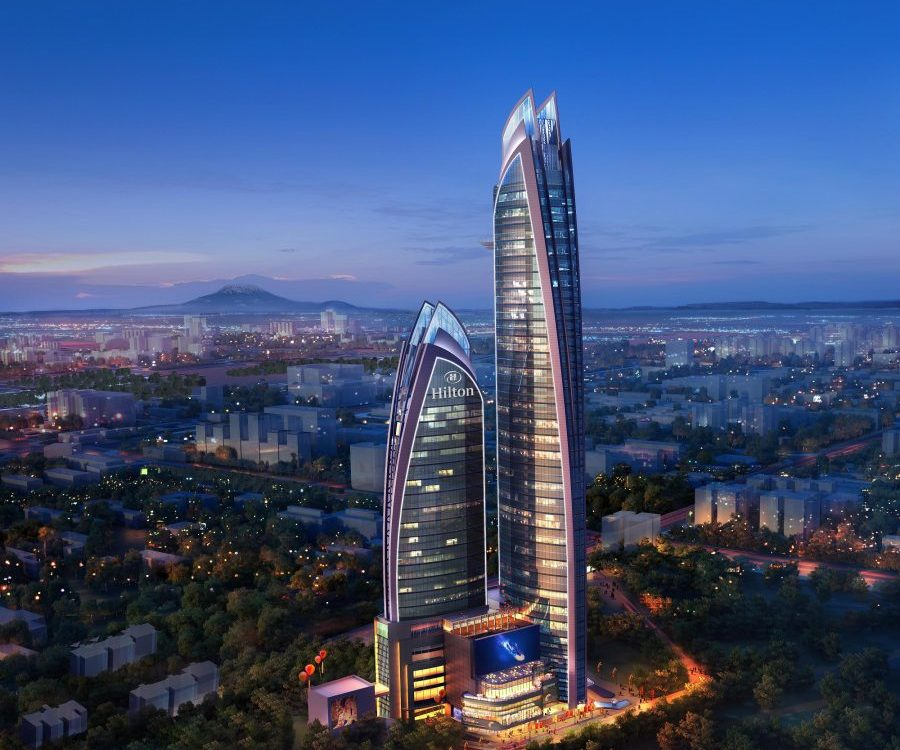 Construction Starts at 45 Floor Hilton in Upper Hill Nairobi. Image Source: Hilton