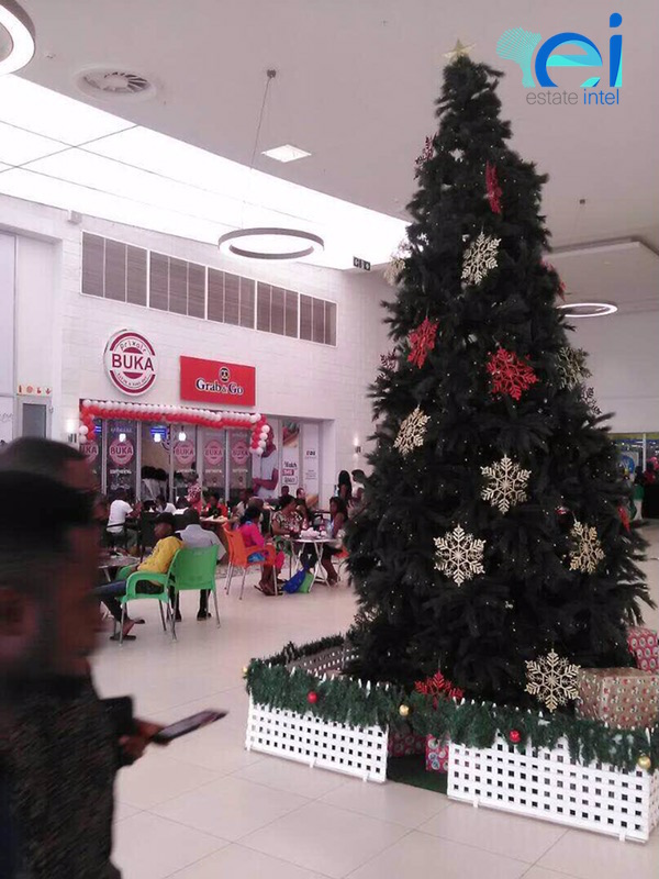 November 2017. Gateway Mall, Lugbe - Abuja.