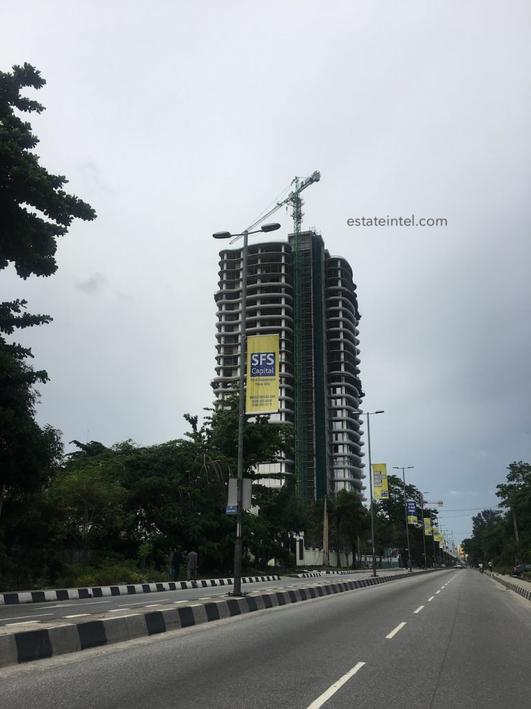 July 2017. Updated: Development: No. 4 Bourdillon, Ikoyi - Lagos