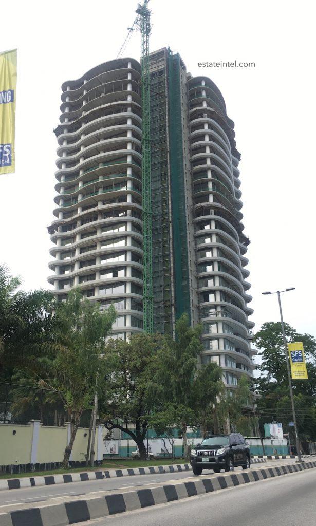 July 2017. Updated: Development: No. 4 Bourdillon, Ikoyi - Lagos