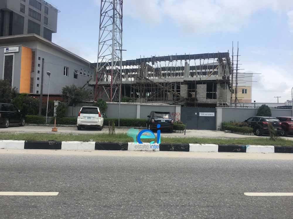 September 2017. AXA Mansard Insurance HQ/Santa Clara Court Extension, Ahmadu Bello Way, Victoria Island - Lagos