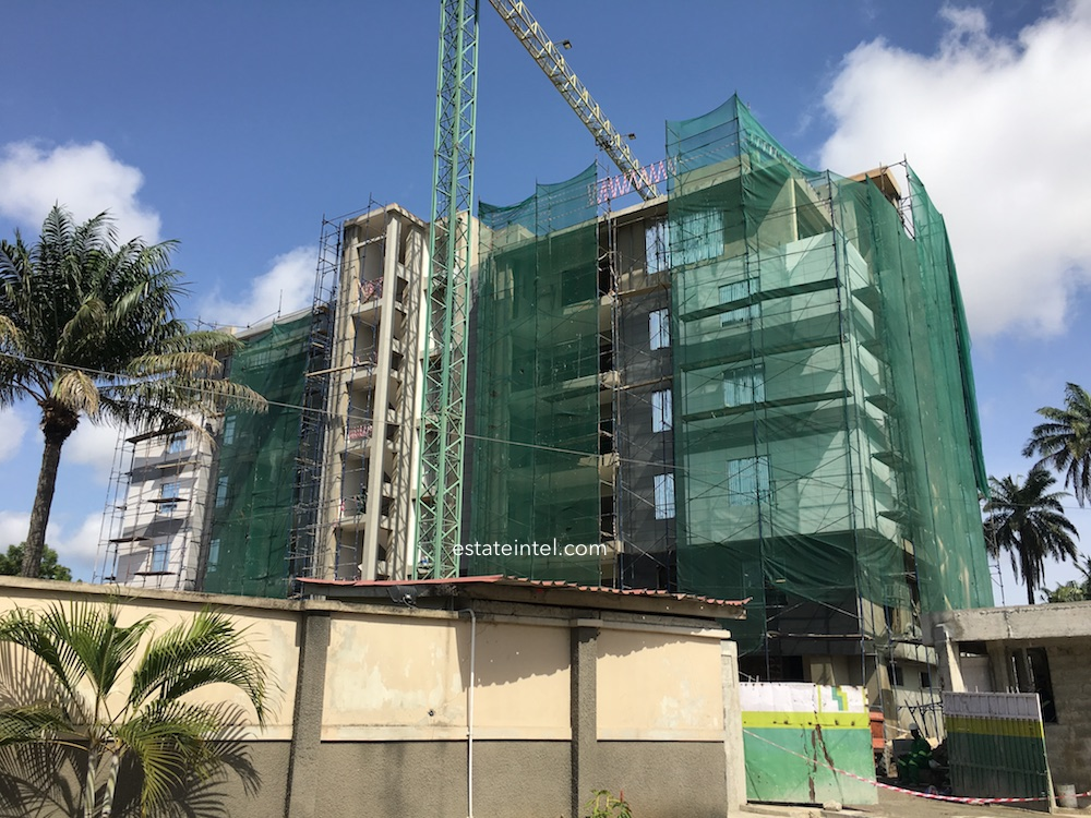 April 2018. Development: Onikoyi/Turnbull Residential Development, Turnbull Road, Ikoyi - Lagos