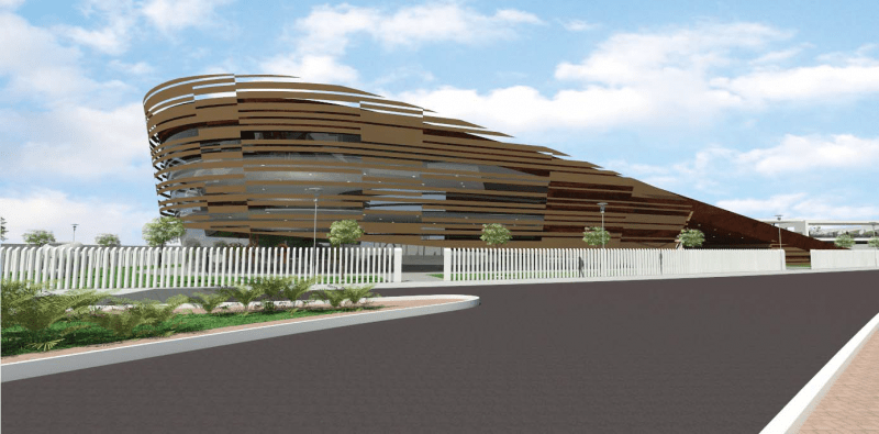 Development: John K. (JK) Randle Centre for Yoruba Culture and History. Image Source: Construction Kaiser