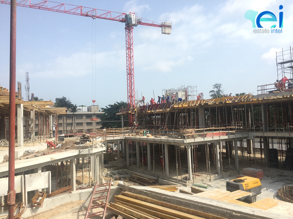 October 2017. Development: Empire Court, Oba Adeyinka Oyekan Avenue, Ikoyi, Lagos