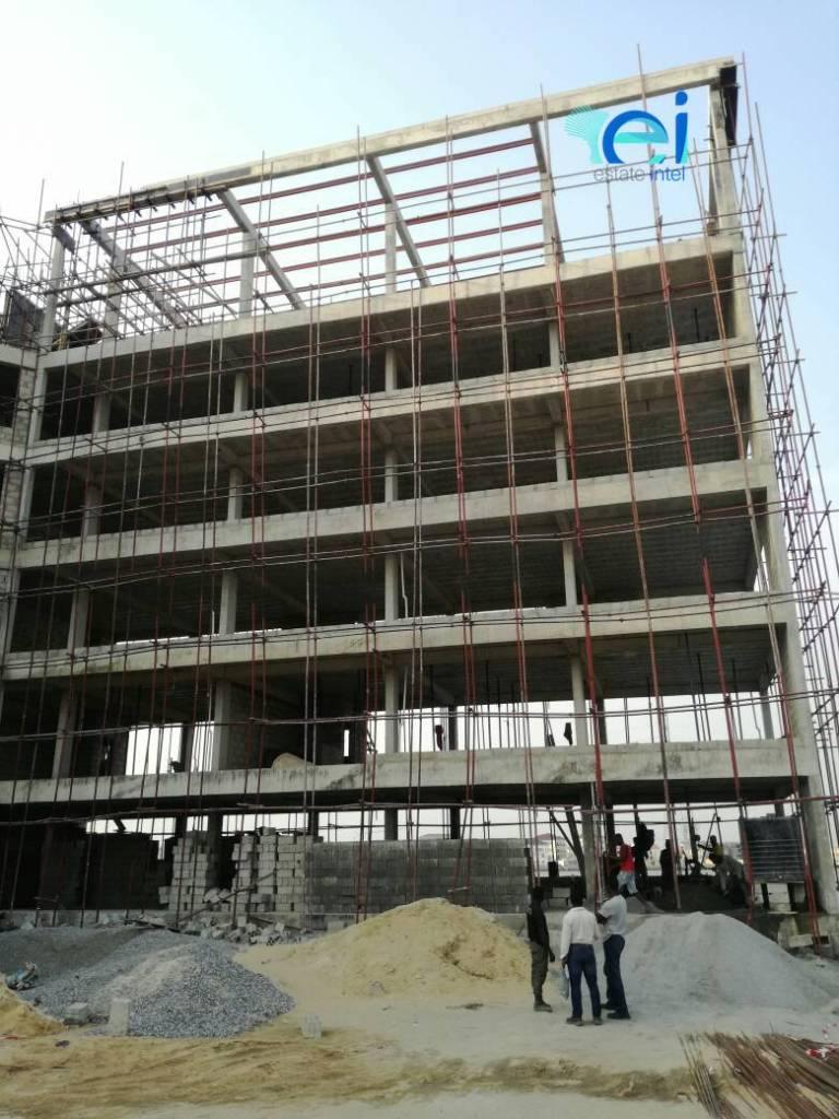 December 2017. Development: Mixed-Use Project, Admiralty Way, Lekki Phase 1 - Lagos