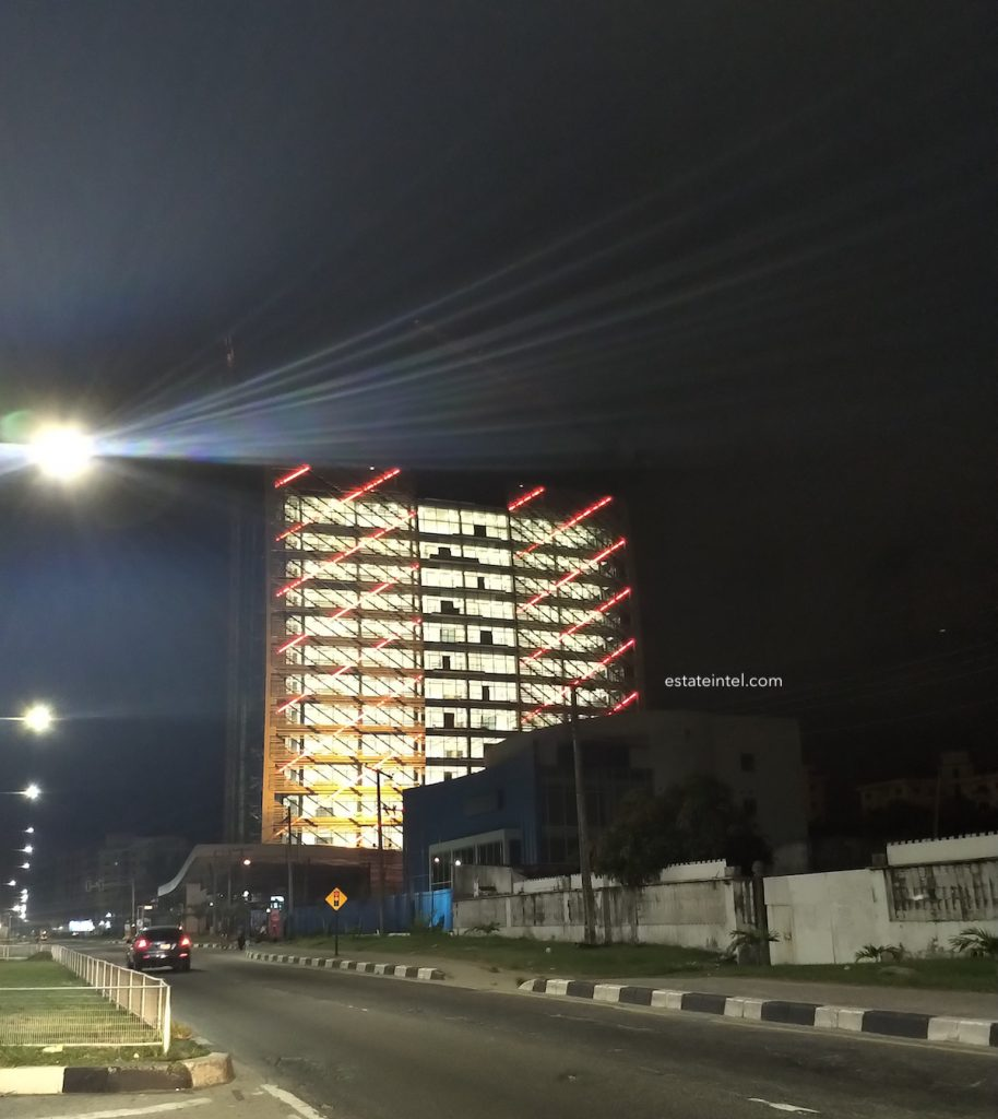 October 2018. Kingsway Tower, Alfred Rewane (Kingsway) Road, Ikoyi, Lagos.