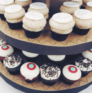 Custom Sprinkles Cupcakes Estate Managers Coalition event