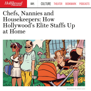 Chefs, Nannies and Housekeepers: How Hollywood's Elite Staffs Up at Home