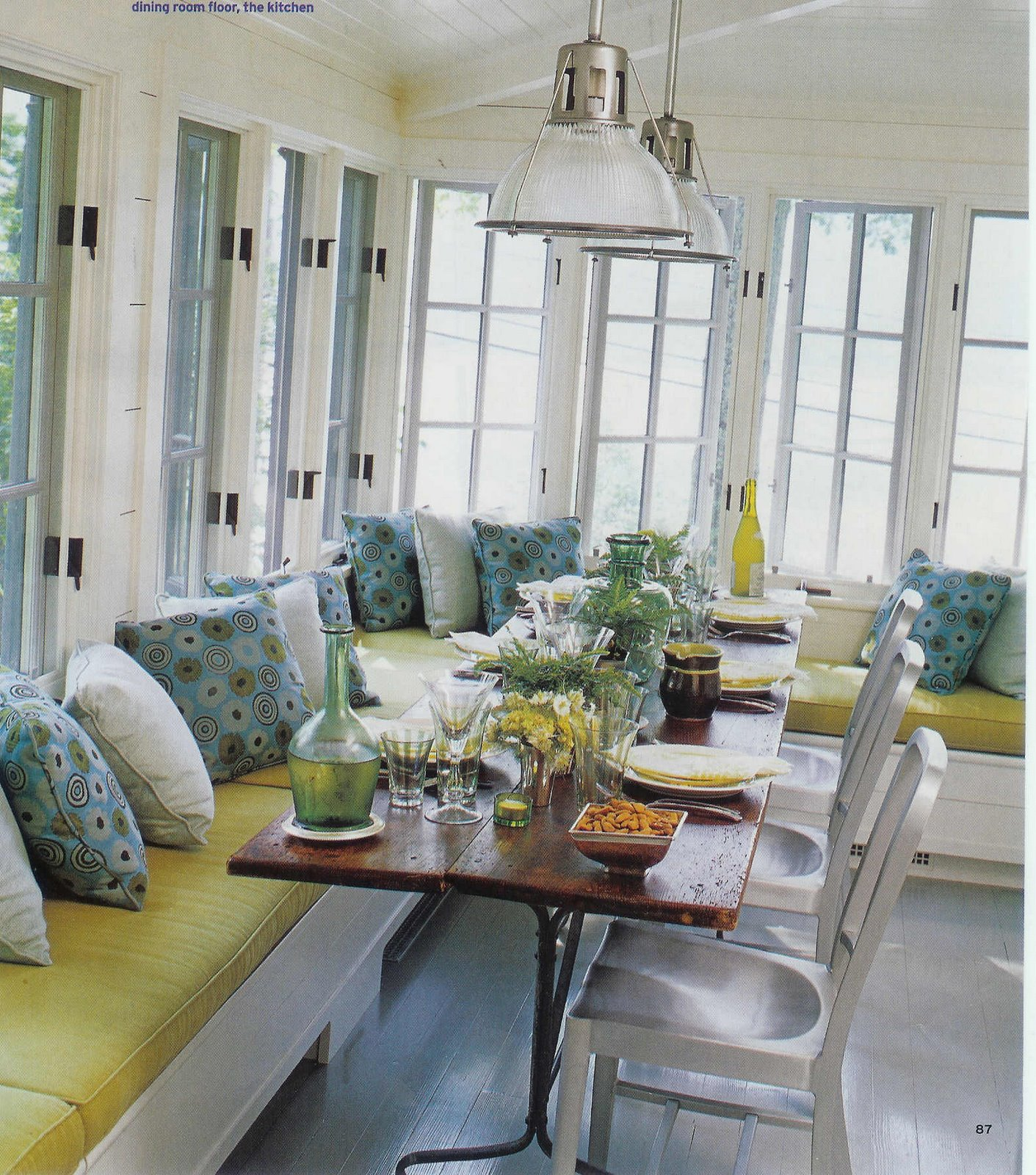 Wonderful Window Seats 8 Fabulous Banquette Dining Table
