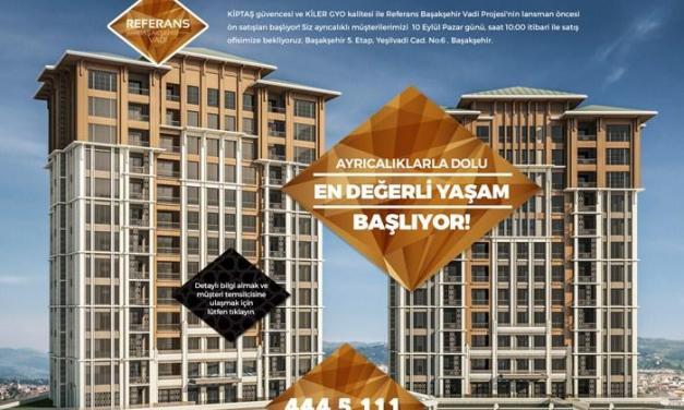 مشروع وادي باشاك شهير Referans Başakşehir Vadi