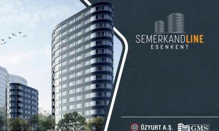 مجمع Semerkandline Esenkent السكني
