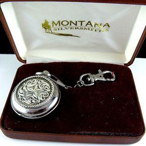 Montana Silversmith Western Pocket Watch