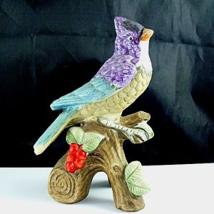 Ceramic Bird Figurine
