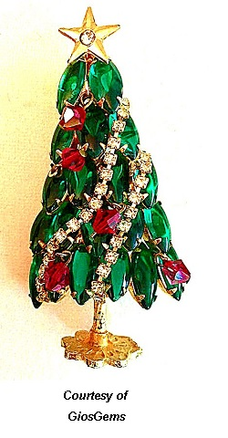 Christmas Jewelry Collection Tree