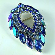 Blue Lagoon Brooch