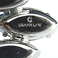 Sarah Coventry Jewelry Mark