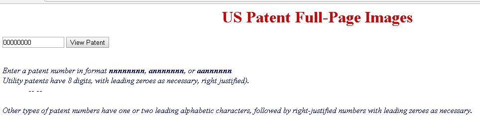 USPTO Design Patents