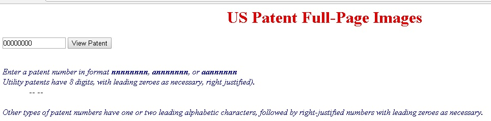 USPTO Design Patents