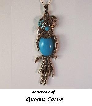 1950's Costume Jewelry Turquoise