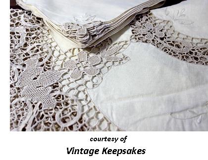 Victorian Romantic Dinner Cloth