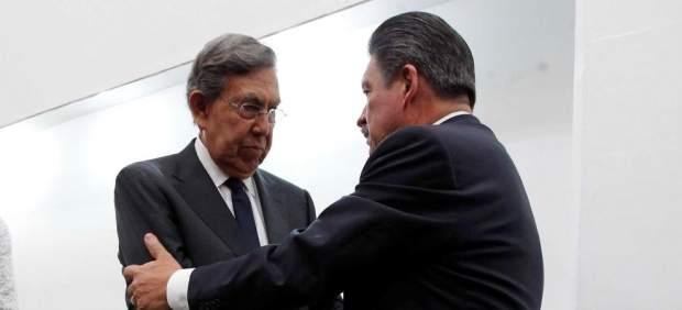 Encuentro entre Cuauhtémoc Cárdenas y Carlos Navarrete