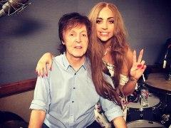 Lady Gaga y Paul McCartney