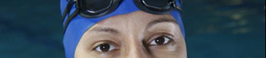 La nadadora y politica Teresa Perales