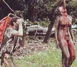 Imagen de 'Holocausto caníbal'.