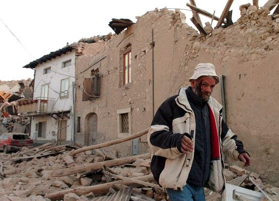 Terremoto catastrófico en el centro de Italia