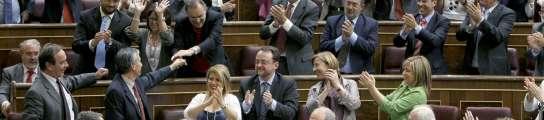 El Gobierno aprueba sus propuestas en el Congreso diluyendo las promesas de ZP  (Imagen: Ballesteros / EFE)
