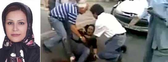 Neda, mártir y símbolo de la revuelta iraní  (Imagen: Vídeo aficionado vía Internet / EFE)