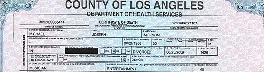 """O corpo de Michael Jackson, """"desapareceu"""": têm enterrado? (Imagem: TMZ.COM)"""