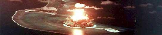 Una imagen de las pruebas nucleares sobre el atolón de Bikini. (Imagen: ARCHIVO - 20minutos.es)