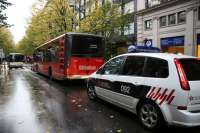 El dispositivo de vigilancia de la Policía Local facilita la identificación de posibles autores de sabotajes a Bilbobus