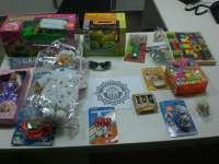 La Policía Local de Algemesí interviene 500 juguetes que incumplían las medidas de seguridad