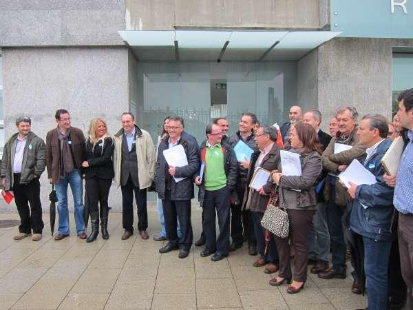 Alcaldes del PSOE presentan recursos contra los