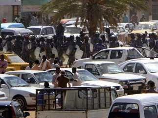 Manifestaciones en Sudán