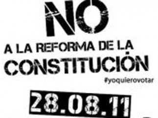 Protesta contra la reforma constitucional