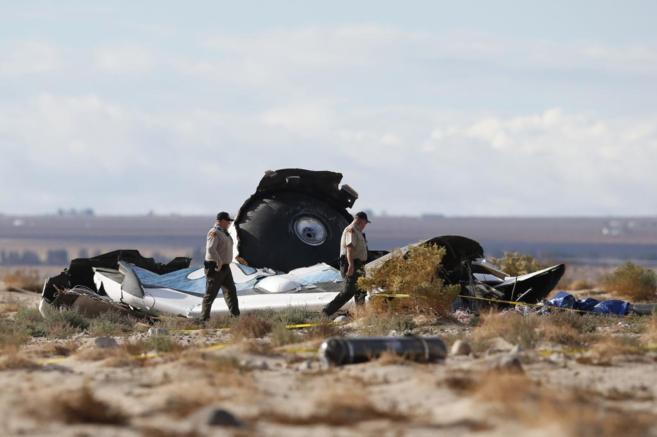 Nave para vôo espacial comercial sofre acidente 2