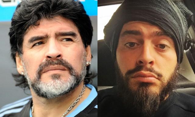 Diego Armando Maradona reconoce a su hijo italiano 29 años después | loc |  EL MUNDO