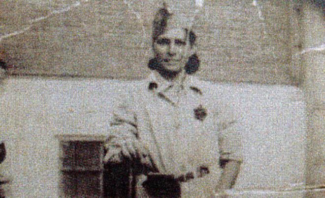 Fotografía de la miliciana Carlota Rivas, cedida por Eliana Ortega. E. M.