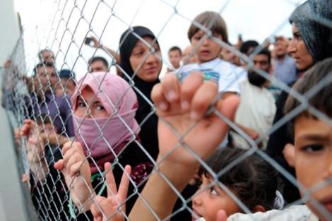 Refugiados Sirios / AFP.