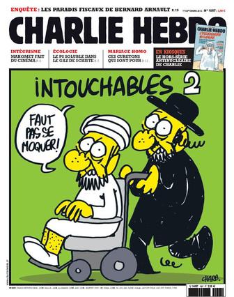 Portada de 'Charlie Hebdo' sobre l'islam.