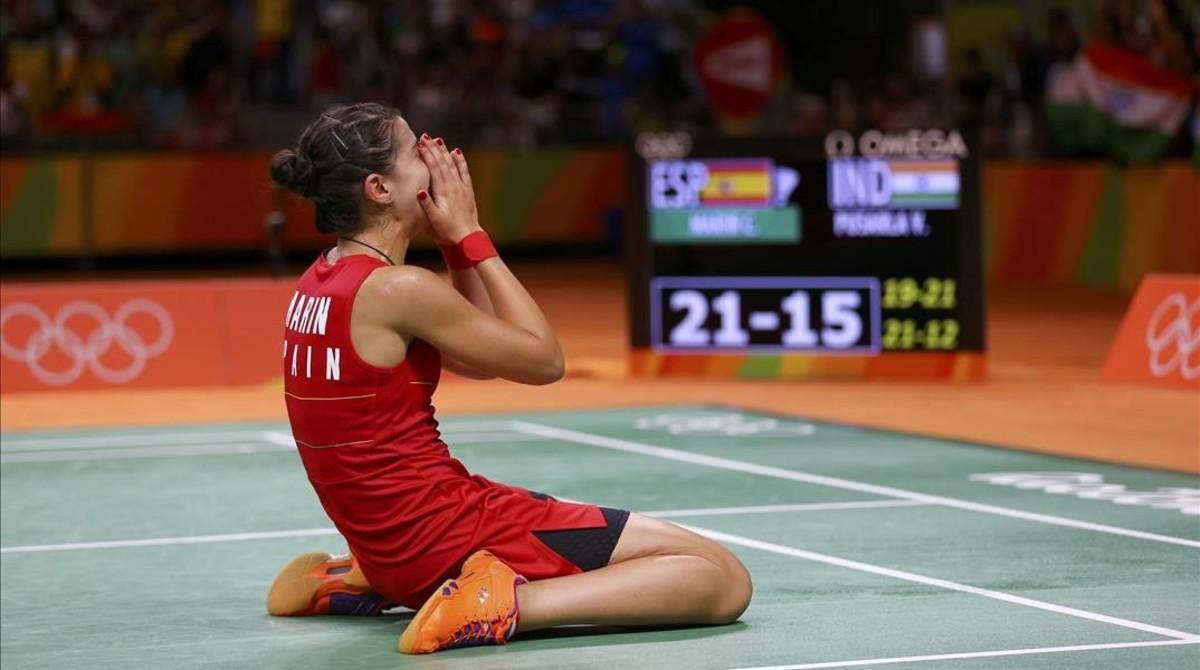 Carolina Marín conquista el sexto oro de Río 2016