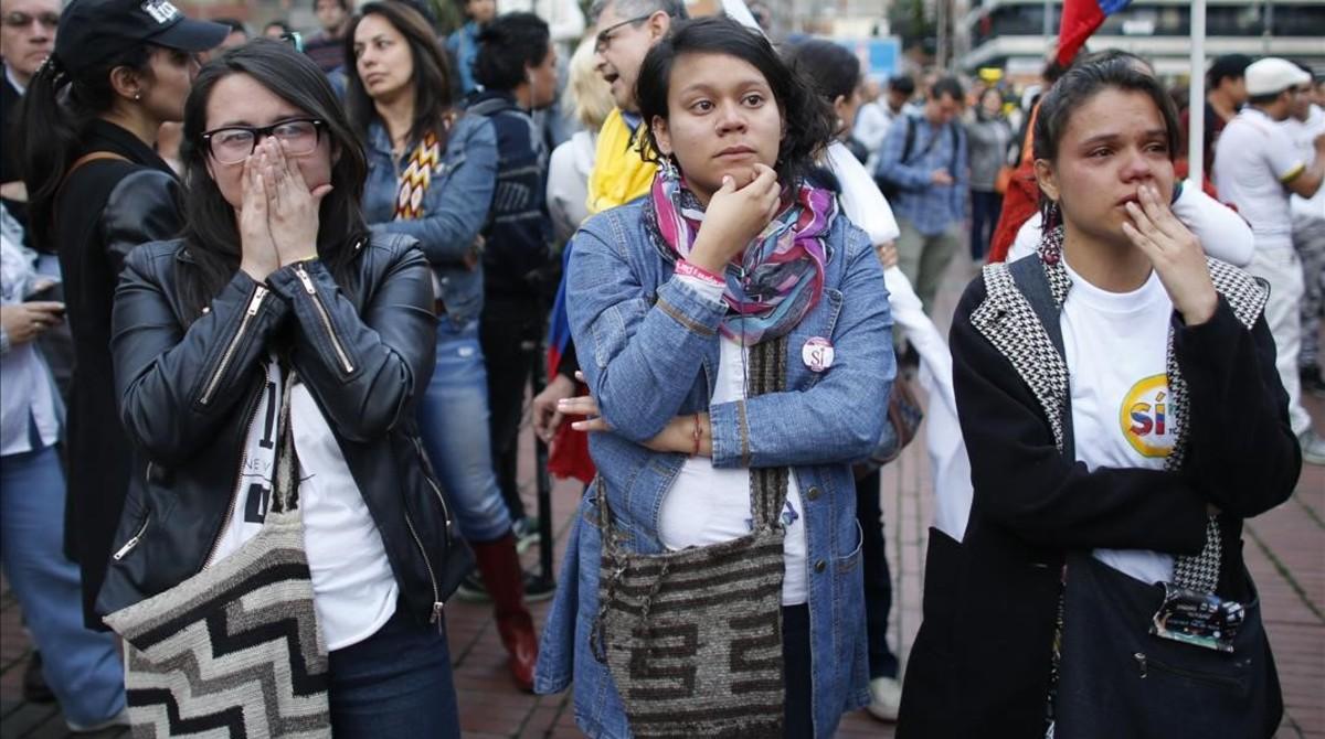 Colombia da la espalda a la paz en el plebiscito