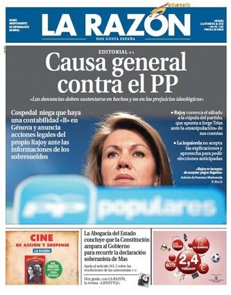 La Razón, 1-2-2013.